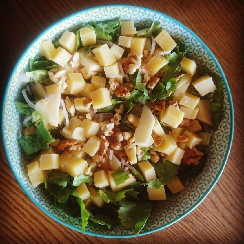 Salade de chicorée aux pommes